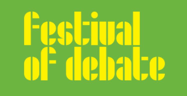 Logo: Festival of debate