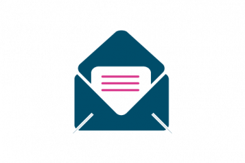 Letter in an envelope