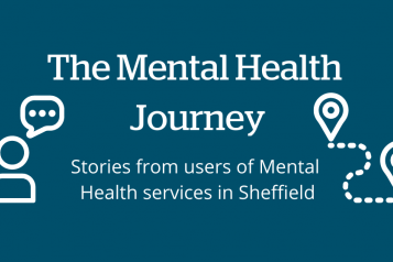 Report cover: The mental health Journey - stories from users of mental health services in Sheffield