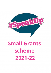 SpeakUp grants scheme 2021