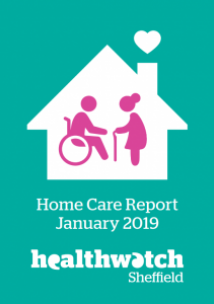 Home Care Report cover January 2019, Healthwatch